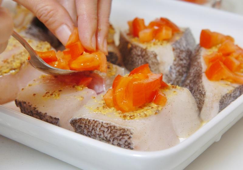 百里香烤鳕鱼