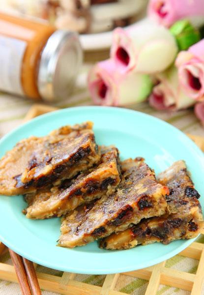 燕麦葡萄松糕