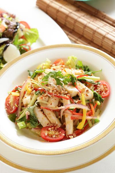 泰式鱼柳沙拉