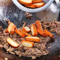红椒牛肉豆干