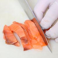 茴香酸奶黄瓜燻鲑鱼沙拉