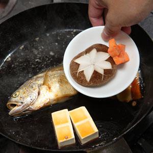 和风红烧黄鱼