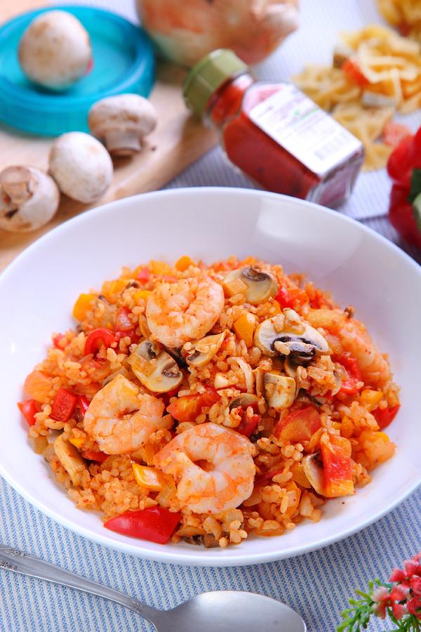 低GI料理 | 西班牙彩椒糙米饭