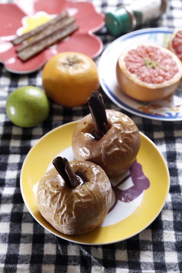 肉桂奶油苹果