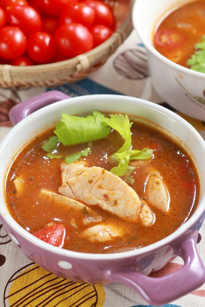 普罗旺斯鱼片粉丝汤
