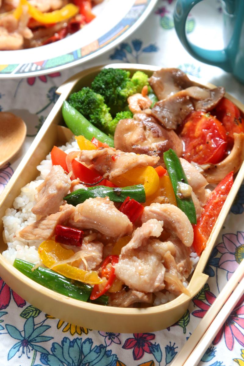 虾酱炒猪肉