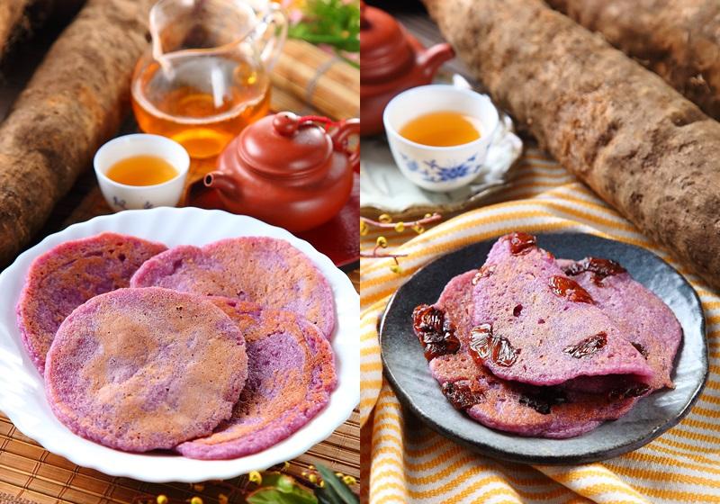 【在地美食】好健康的古早点心!南投名间红薯饼