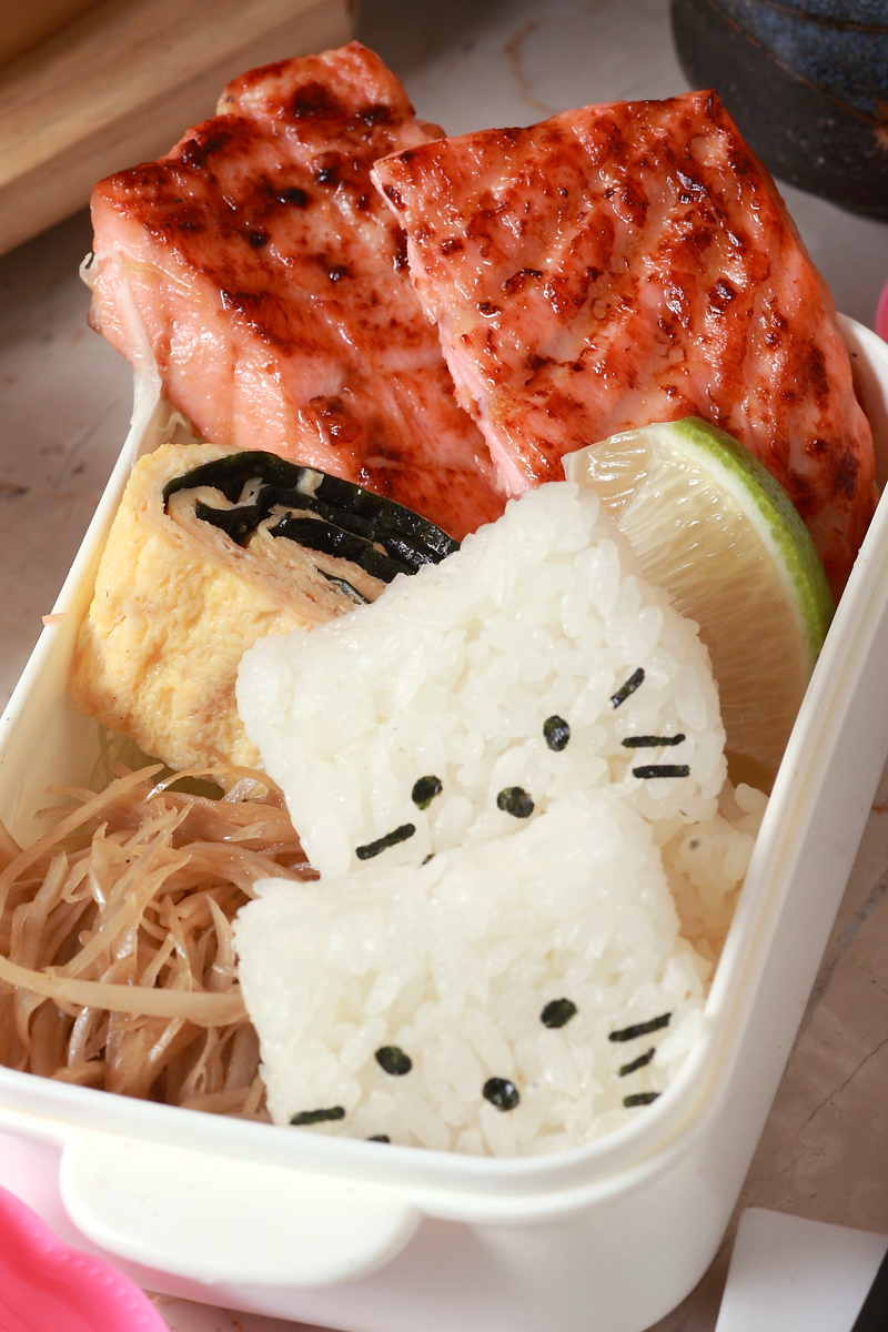 鲑鱼味噌烧