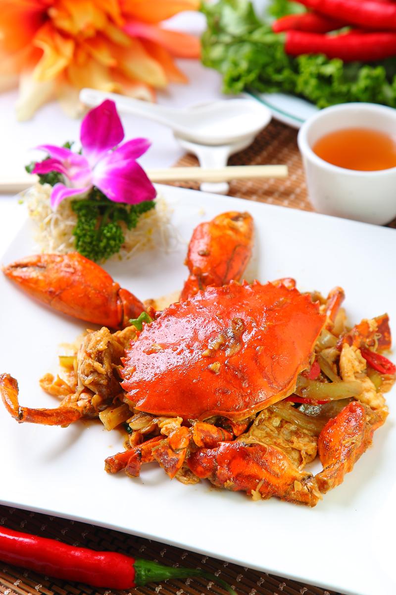 洋葱桂花蟹