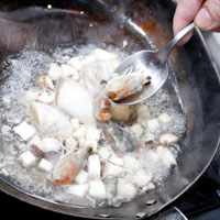 焗烤海鲜豆浆炖饭