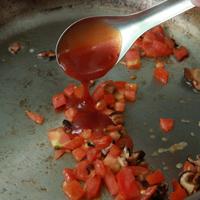 茄汁煎豆包