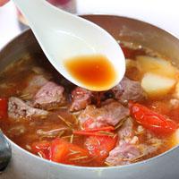 番茄老酒烩牛肉
