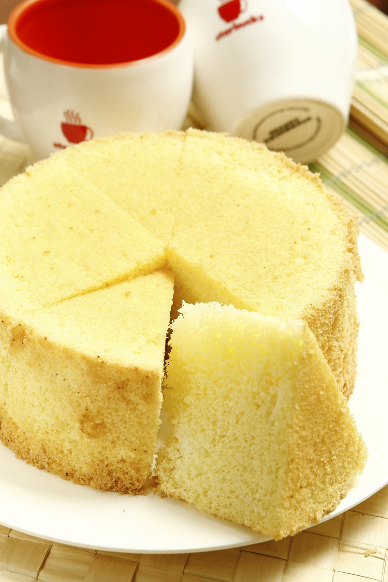 白米电子锅戚风蛋糕