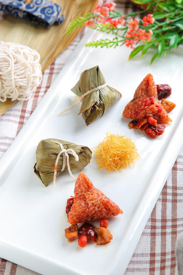 红麹枸杞肉粽