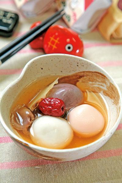 红枣桂圆汤圆