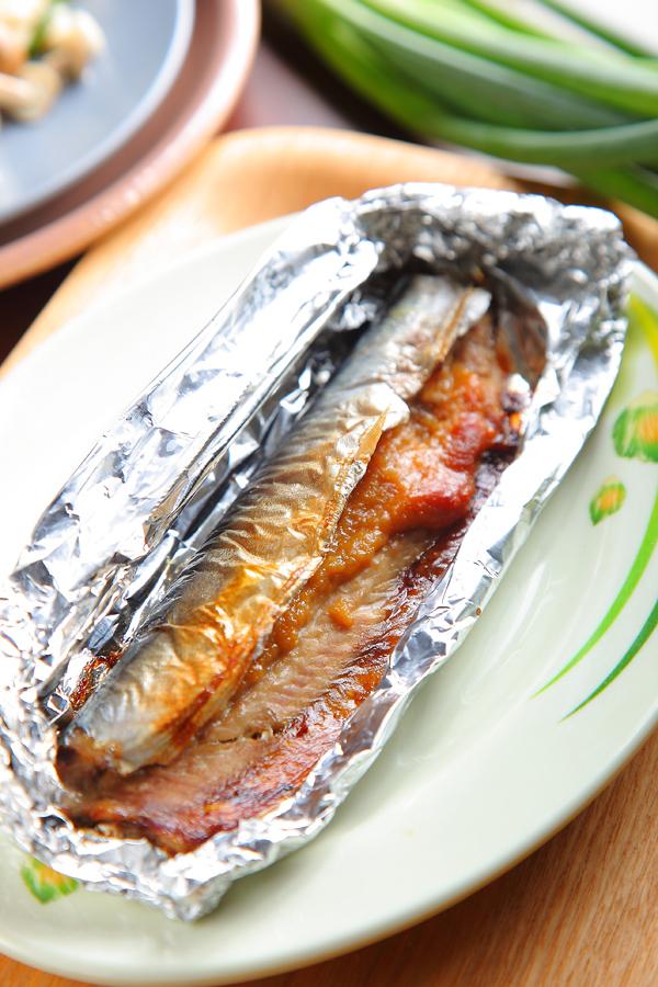 味噌烤秋刀