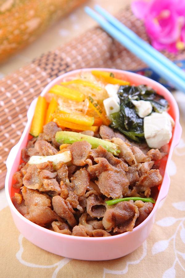 蒜香味噌炒猪肉