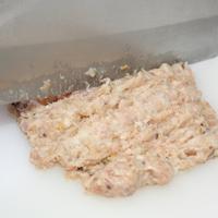 海苔蒸肉饼