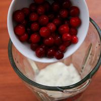 蔓越莓优酪乳