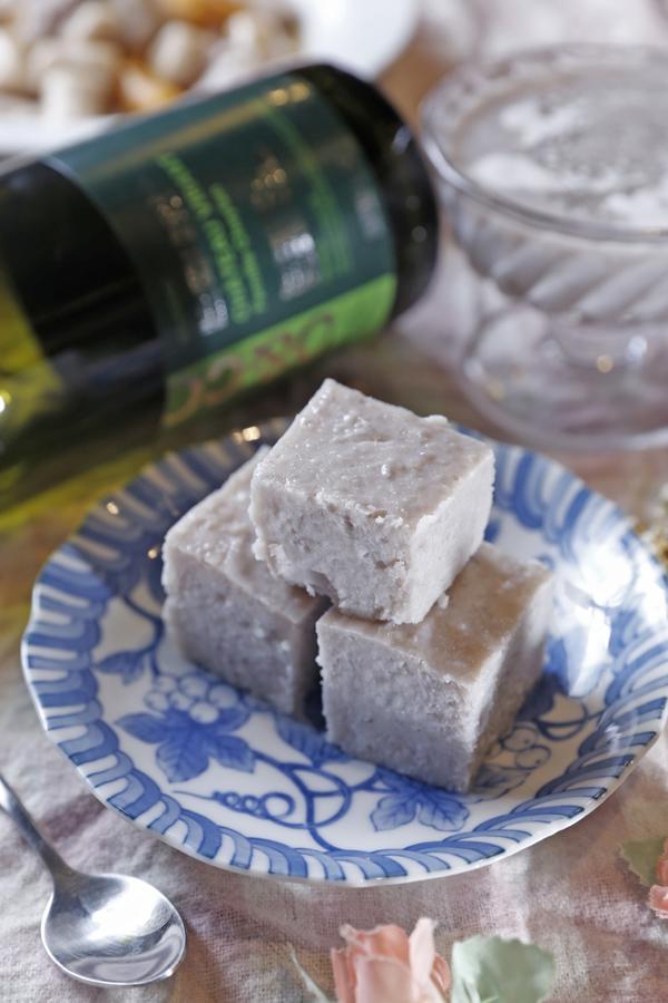 芋头牛奶冰砖