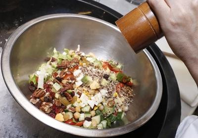 韩式辣味油醋沙拉