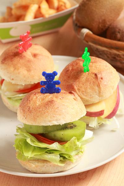 蔬果小汉堡