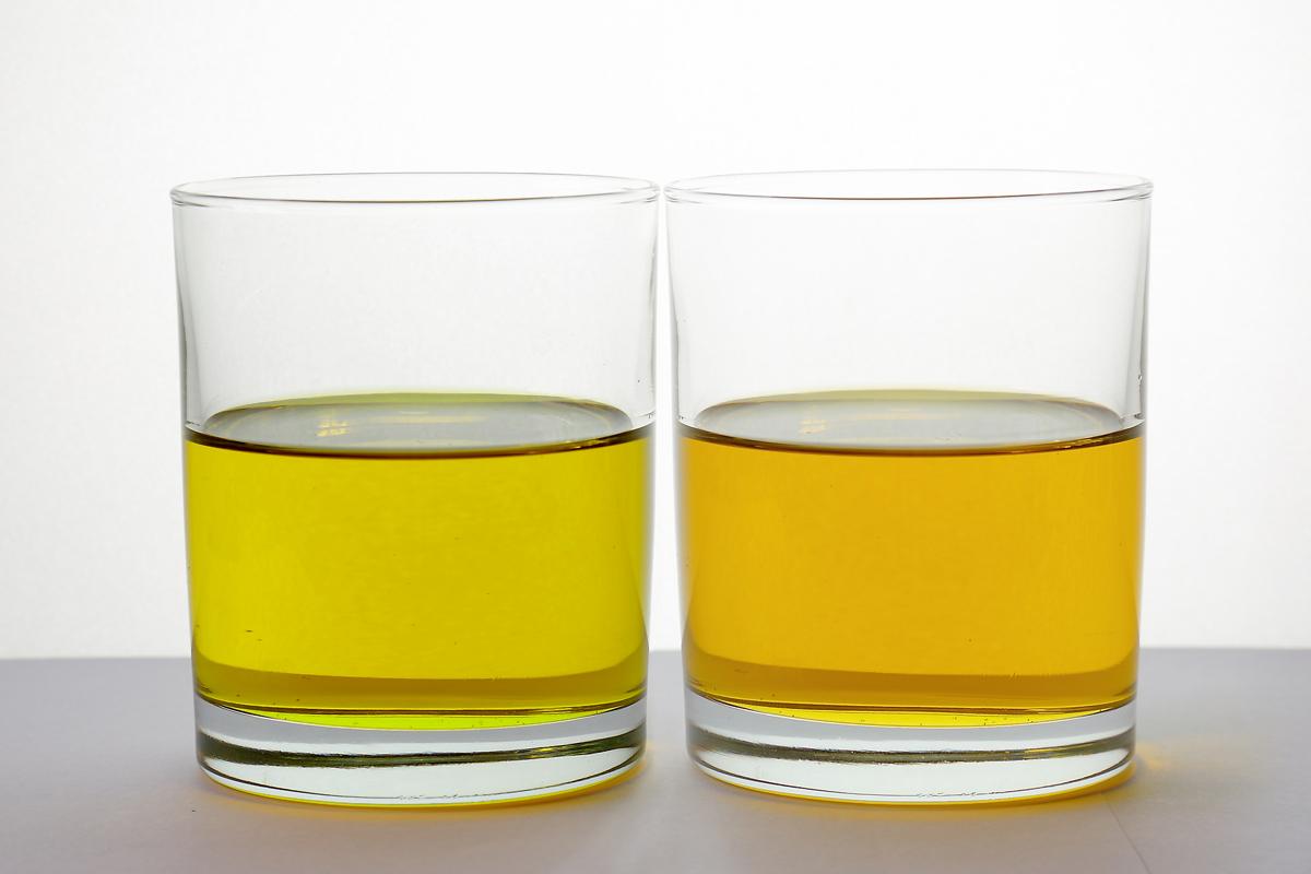 橄榄油的颜色,深色比浅色好?