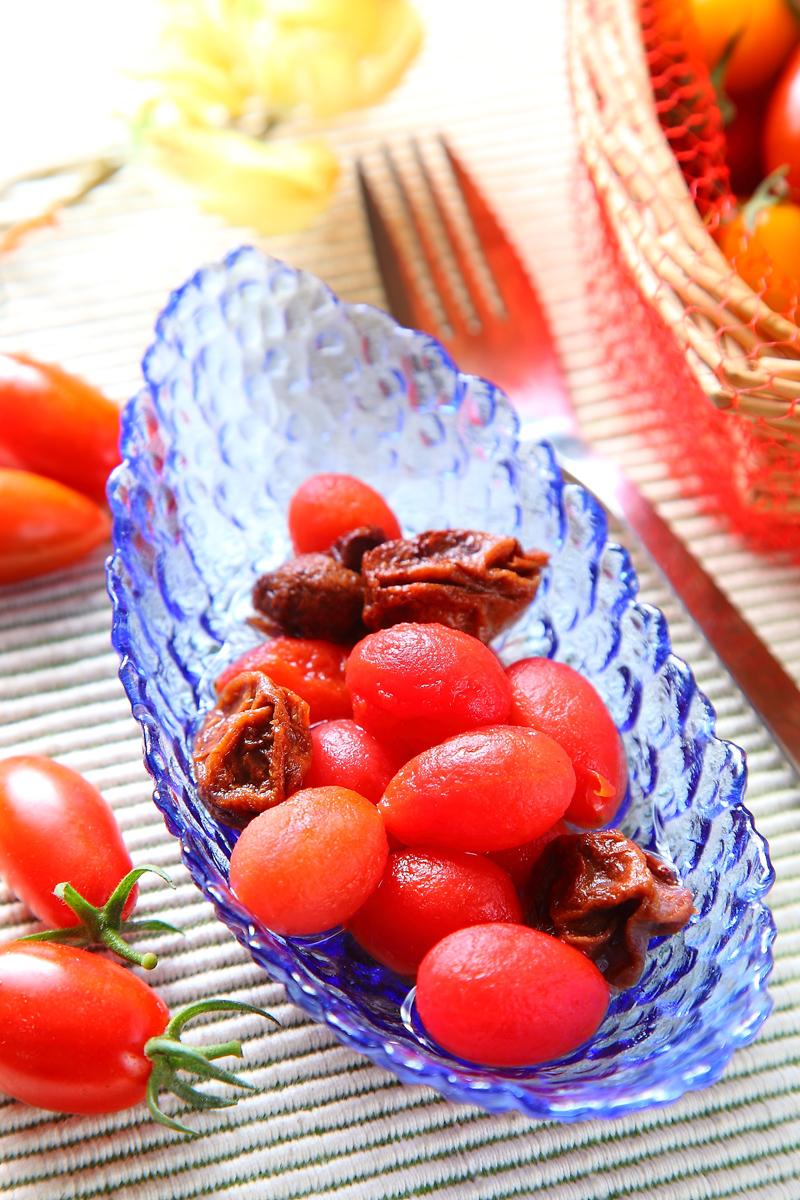 梅汁酿番茄