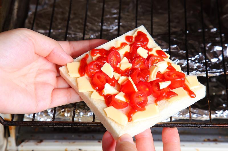 番茄起士烤吐司