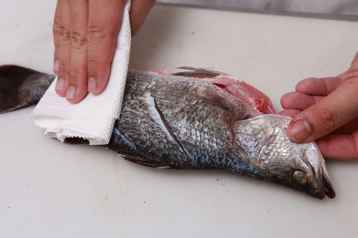 买回来的鱼,保鲜技巧「去鳞、分切」这样做!
