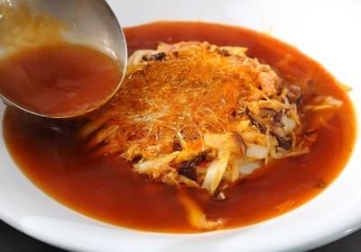 白菜海鲜羹