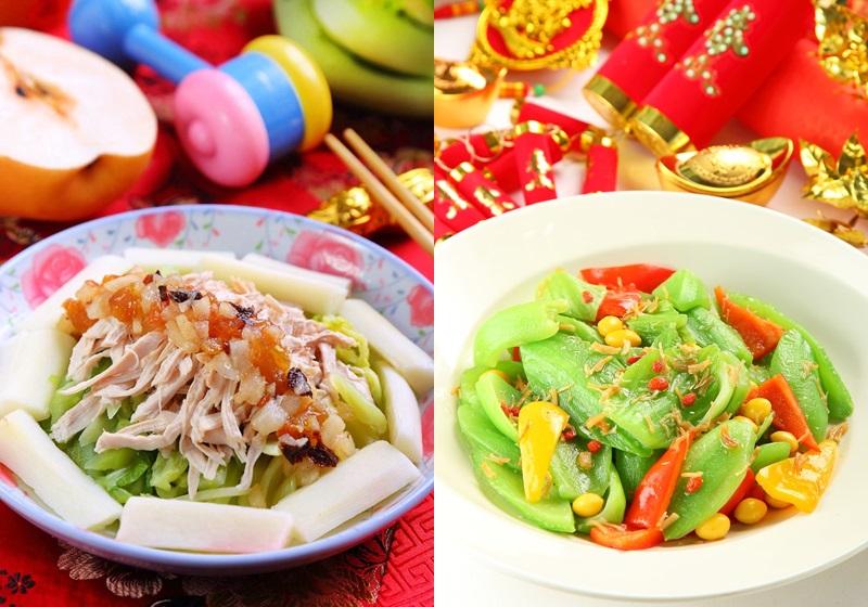 年节应景「长年菜」!热炒、水煮的两种