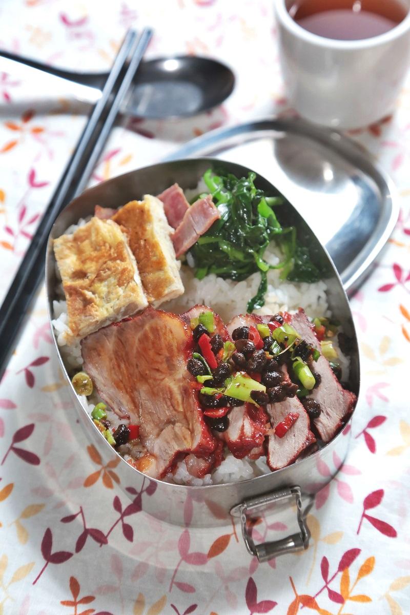 豆豉红麹梅花肉
