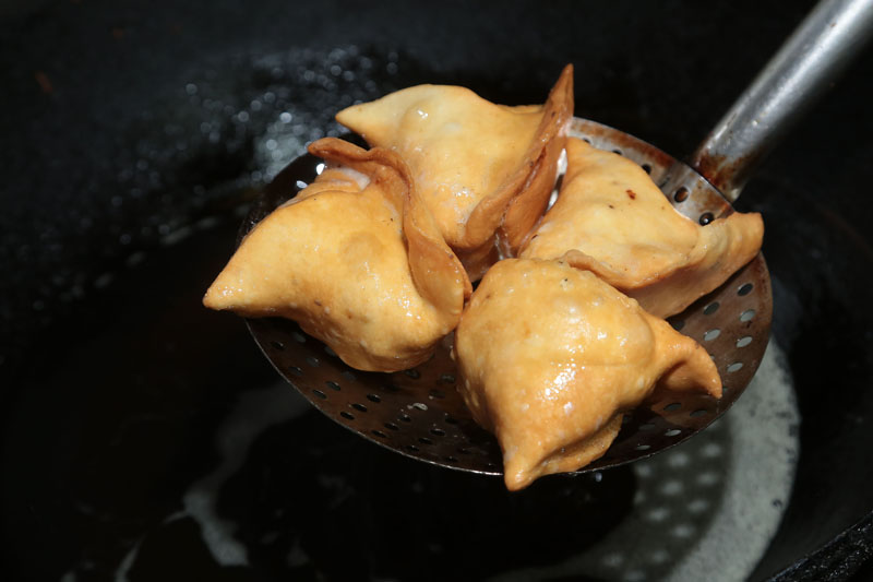 印度炸咖哩饺
