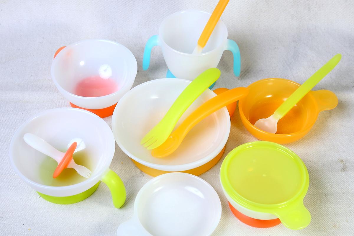 兒童餐具Q&A:色彩鮮艷的餐具安全嗎?