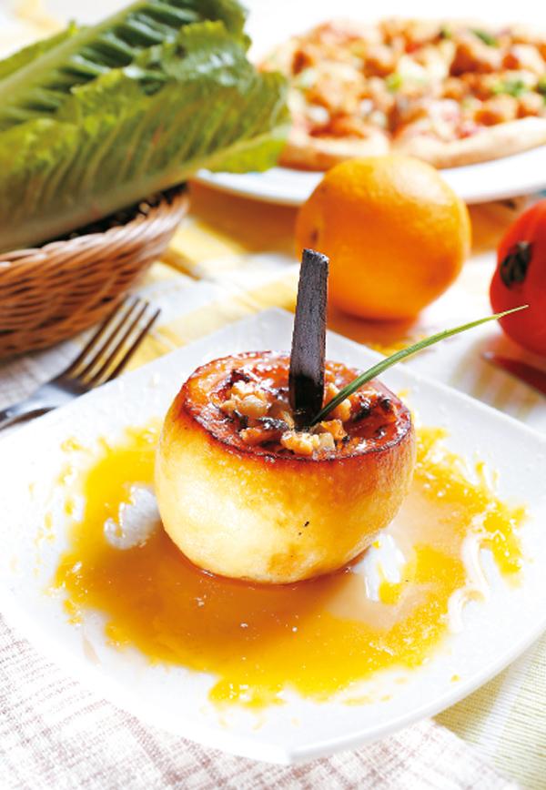 枫糖烤苹果